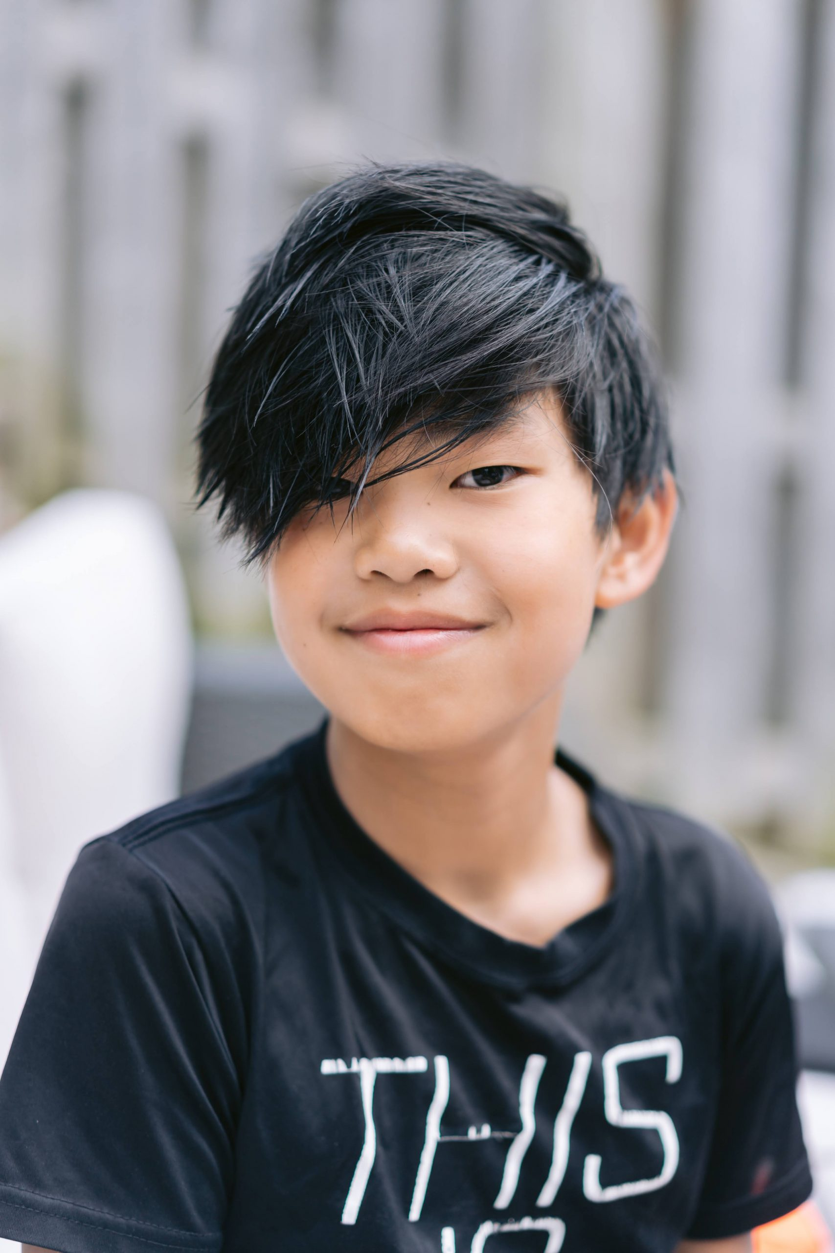 A photo Joee Wong's first son.