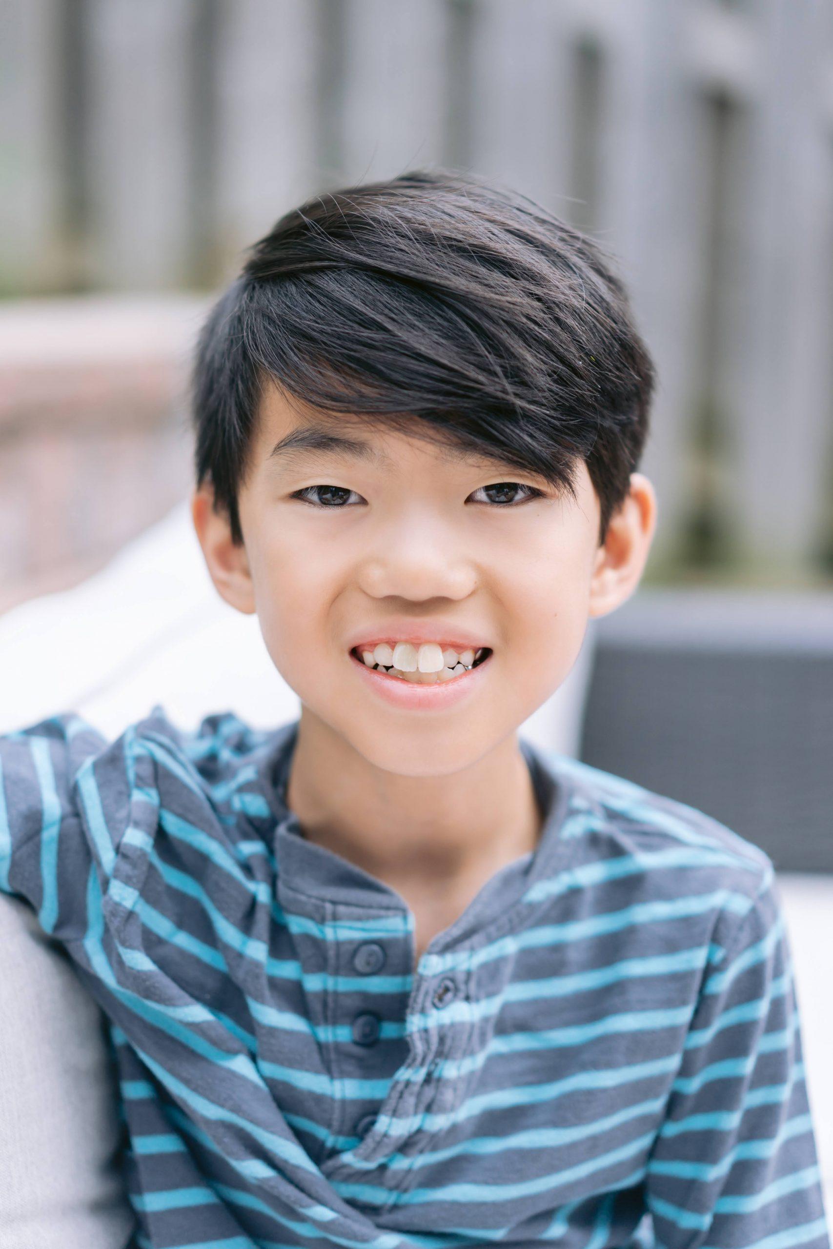 A photo Joee Wong's third son.