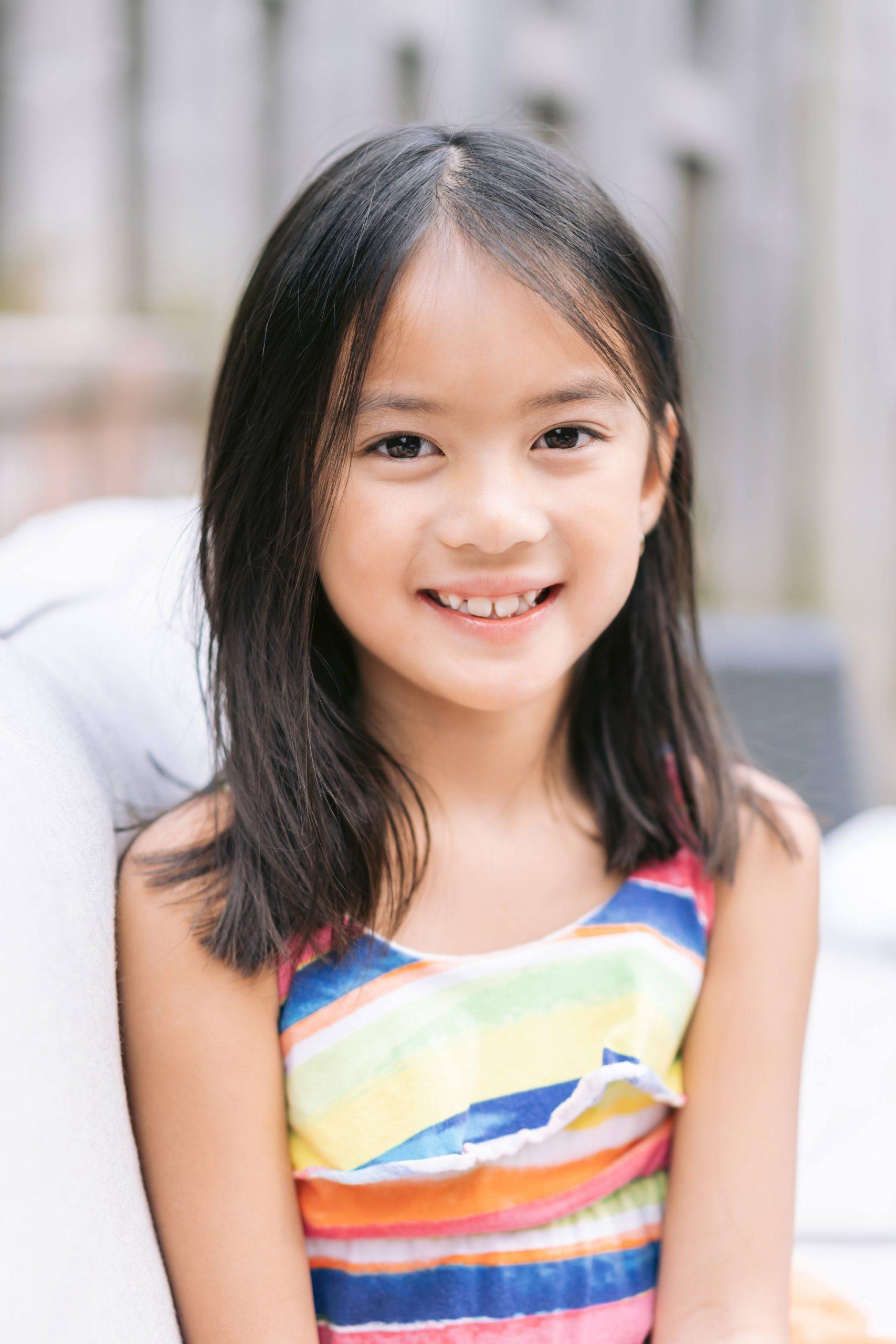 A photo Joee Wong's daughter.